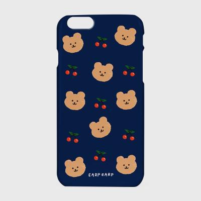 Dot cherry bear-navy(하드/터프/슬라이드)