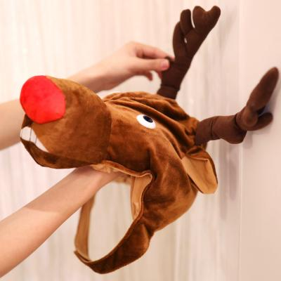 크리스마스 루돌프 순록 모자