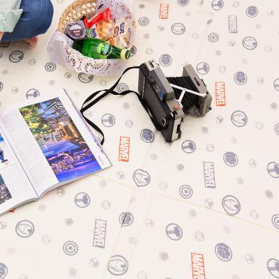 마블 3단 피크닉 캠핑 매트 대형 200x240cm