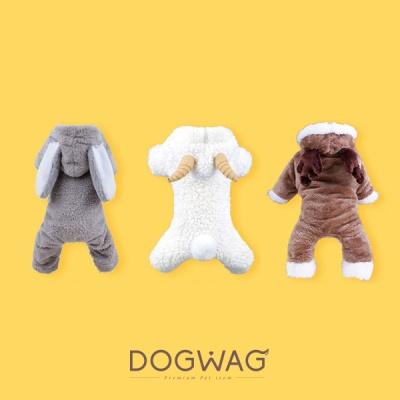[도그웨그 DOGWAG] 강아지&고양이 동물 코스튬 털옷 양옷, 토끼옷, 사슴옷