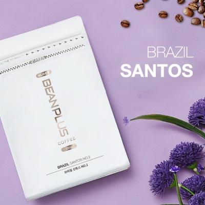 [빈플러스] 신선한 로스팅 원두커피 산토스 200g
