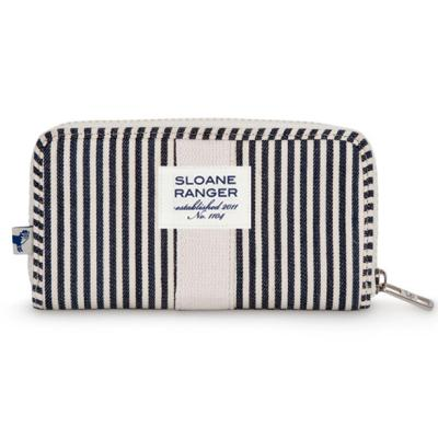 [슬론레인저]Zip Wallet 지갑 - Denim Stripe