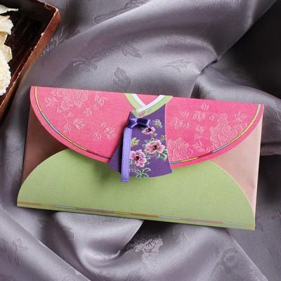 분홍 새색시한복 축하봉투 (035-ME-0030)