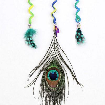 피콕깃털(Peacock) 아동 머리띠/헤어핀/헤어밴드_