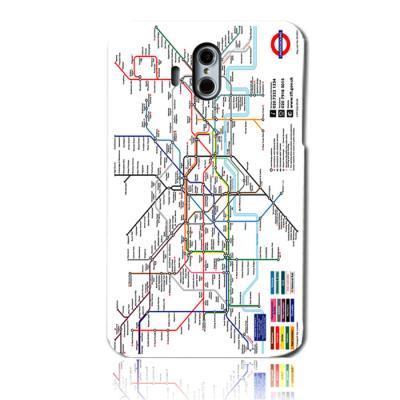 런던 지하철지도 하드케이스(베가아이언2)