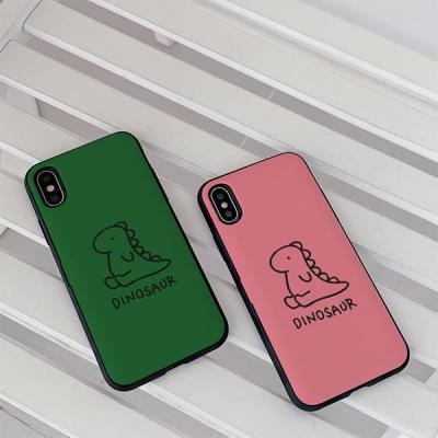 아이폰8플러스 다이노소어 카드케이스