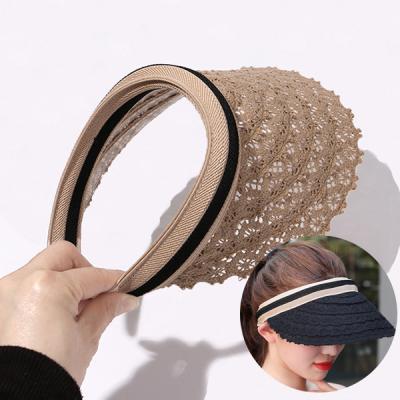 카노 여성 라탄모자 밀짚모자 썬캡