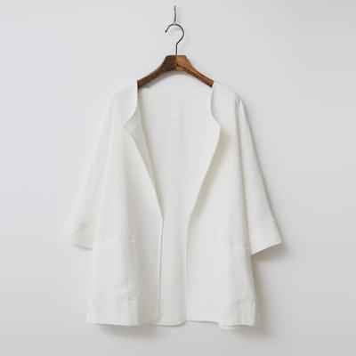 Linen Open Jacket