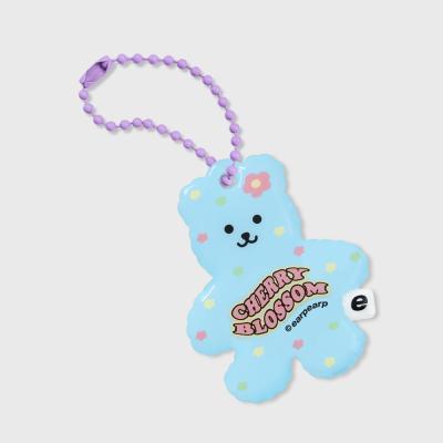 Cherry blossom bear-sky blue(PVC키링)