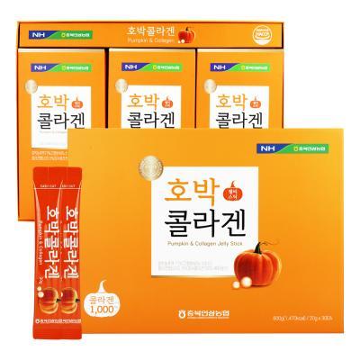 [쇼핑백증정]호박 콜라겐 젤리스틱 20g×30포