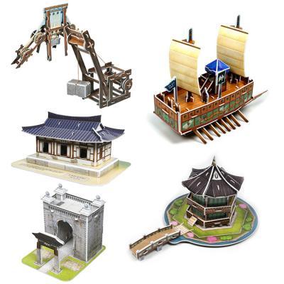 한국사 입체퍼즐 - 한국의 문화유산 3 (5종)