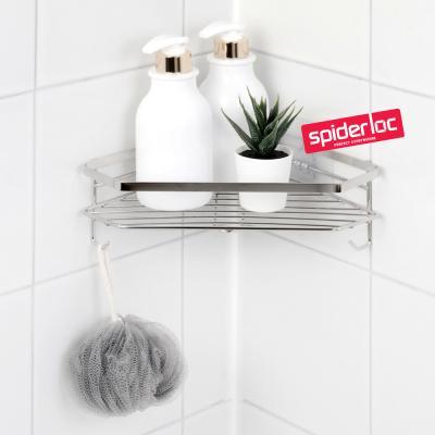 [스파이더락] 스마트접착 욕실 코너선반