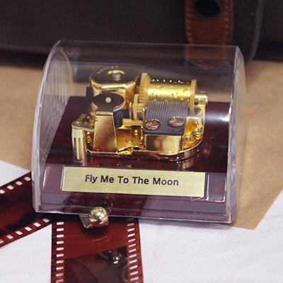돔 멜로디박스 오르골(DA-053S) - Fly me to the Moon