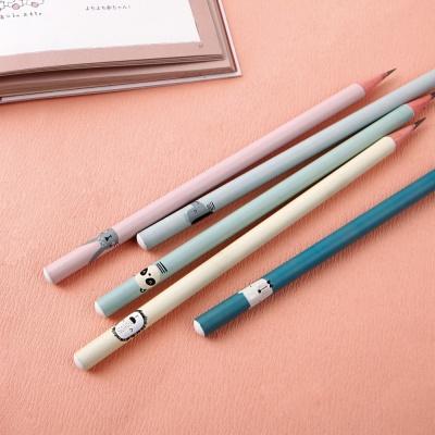 [기성]네임연필2B 6자루해피프렌즈