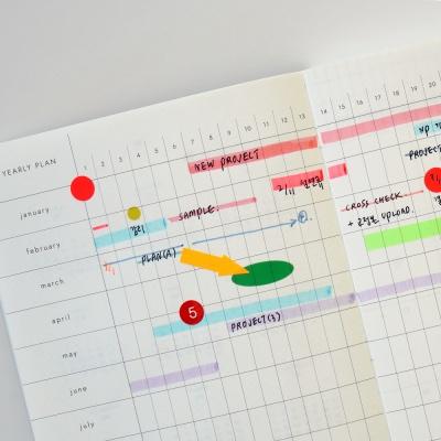 2021 오프닝 시퀀스 다이어리 (날짜형)