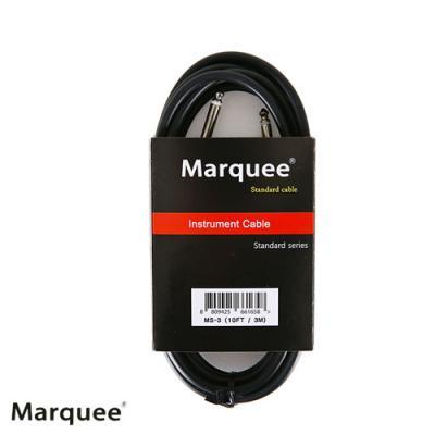 [Marquee] 일렉 & 베이스 기타 케이블 3M 기본 / 3미터 MS-3
