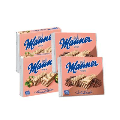 크리스피웨이퍼(초콜릿*2/헤이즐넛*2)