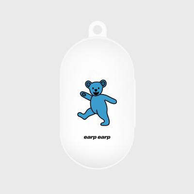 Hi bear-white(buds jelly case)