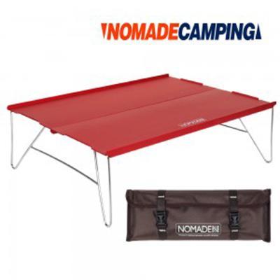 노마드 트렌스폼 솔로 캠핑테이블-레드/캠핑테이블