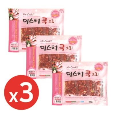 미스터쿡300g 오리스테이크칩 x3개 강아지간식