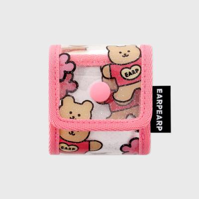 Blossom bear heart-pink(PVC Air pods)