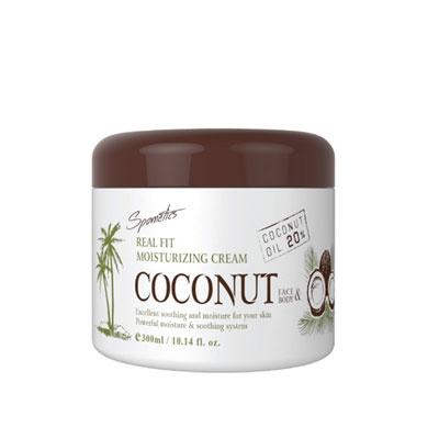 스포메틱스 리얼핏 모이스춰라이징 크림 코코넛 300g