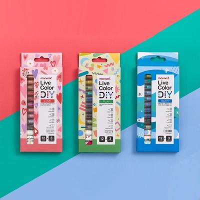 모나미 라이브칼라 DIY (3BODY+12PARTS)