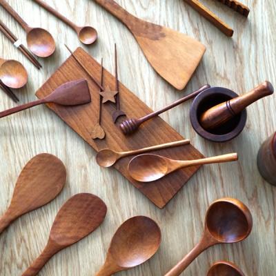 대추나무 천연옻칠 수저세트 조리도구 모음