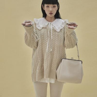 [펀프롬펀]Olsen frame big bag (ivory)