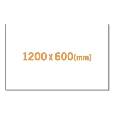 고무자석 화이트보드 1200X600mm