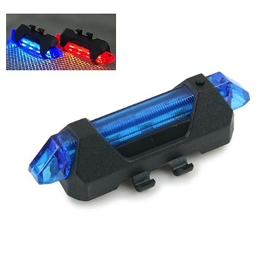 (Coms) USB충전 자전거 LED 점멸기 블루 (WH2583)
