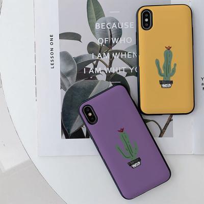아이폰7 Cactus Grid 카드케이스