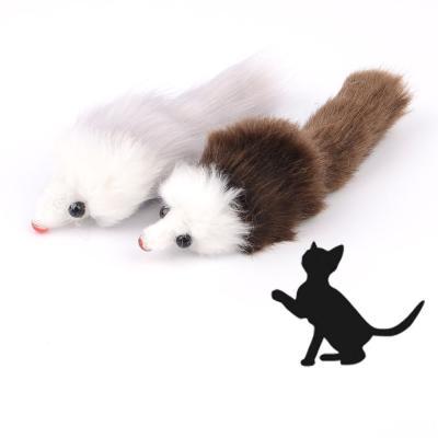 고양이 마우스인형 장난감 2p 1세트(색상랜덤)