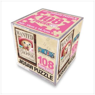 원피스 직소퍼즐 미니 Cube 108pcs: 현상수배 초파
