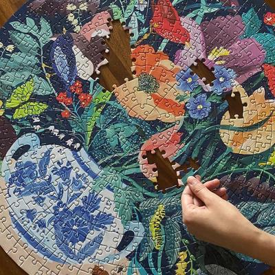 꽃병 속 정원 500피스 라운드 퍼즐