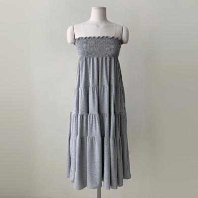 Cotton Tube Cancan Dress