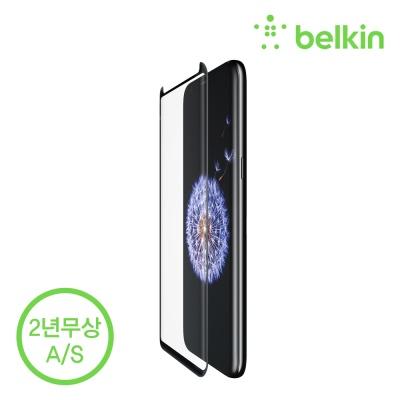 벨킨 삼성갤럭시 S9+용 템퍼드 강화유리필름 F7M062zz