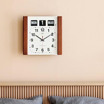 데코앤홈 트웸코 BQ-15 인테리어 캘린더 플립벽시계
