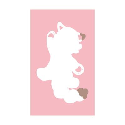 핑크깜자 떡메모지