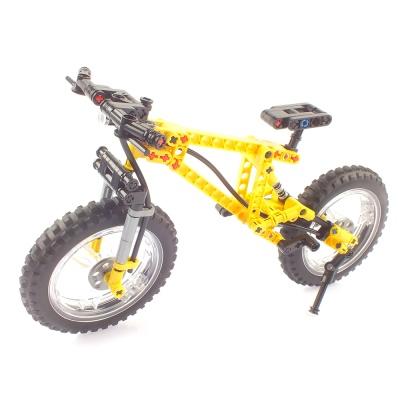 마운틴 바이크 산악 MTB 자전거 블록 옐로우 209PCS