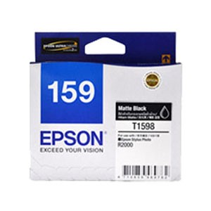 엡손(EPSON) 잉크 C13T159890 / NO.159 / Matte Black / Stylus Photo R2000