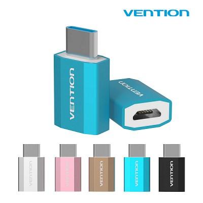 벤션 슈퍼미니 메탈릭 USB 3.1 C타입 젠더/5V 충전 데이터 호환