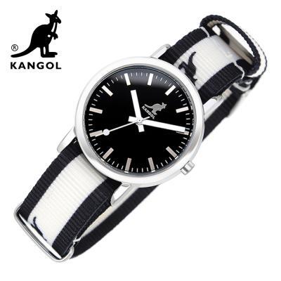[KANGOL] 캉골시계 나토밴드시계 KG11032_1 BWB LOGO