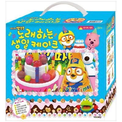 뽀롱뽀롱 뽀로로 노래하는 생일 케이크