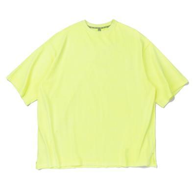CB 아콘 피크먼트 오버핏 티셔츠 (라임)