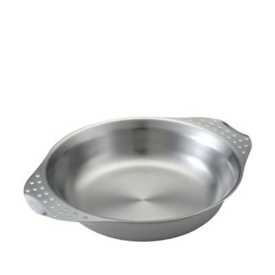 [유니프레임] 캠프 플레이트 스테인레스 접시 그릇