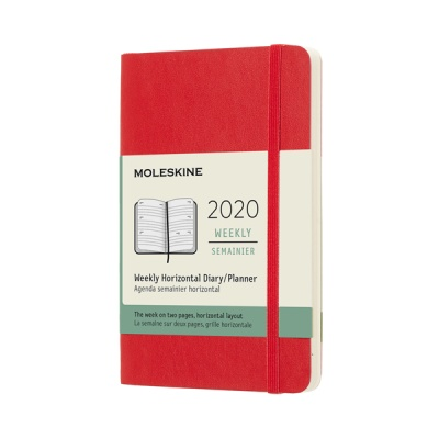 몰스킨 2020위클리(가로형)/스칼렛레드 소프트 P