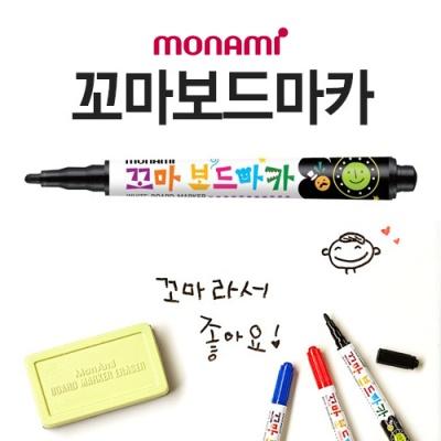 1p 모나미 꼬마 보드마카(흑)