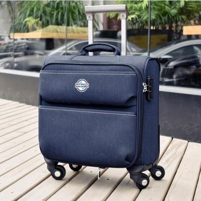 기내용 소프트 튼튼한 여행 가방 캐리어 16형 네이비