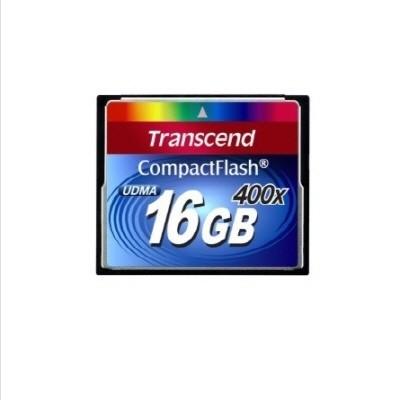 트랜센드 코리아 정품 CF메모리카드 400X배속 16GB 고속메모리